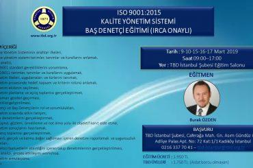 ISO9001 Eğitimi