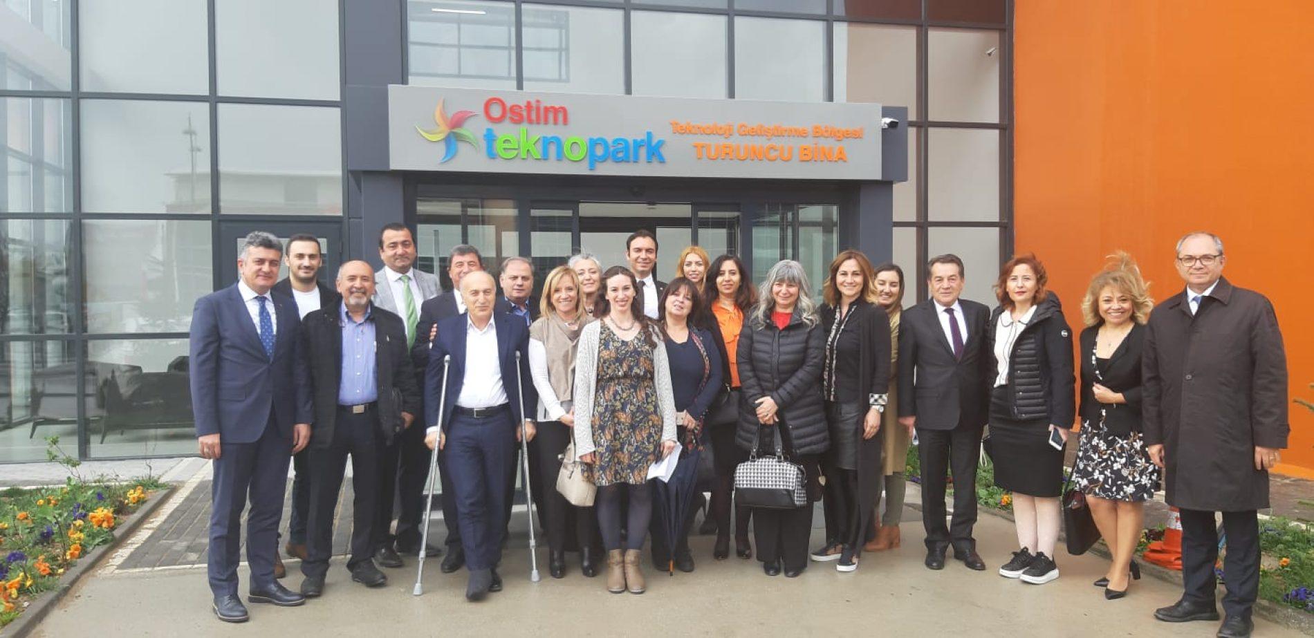 Türkiye Bilişim Derneği Ostim Teknopark Tanıtım Toplantısına Katıldı