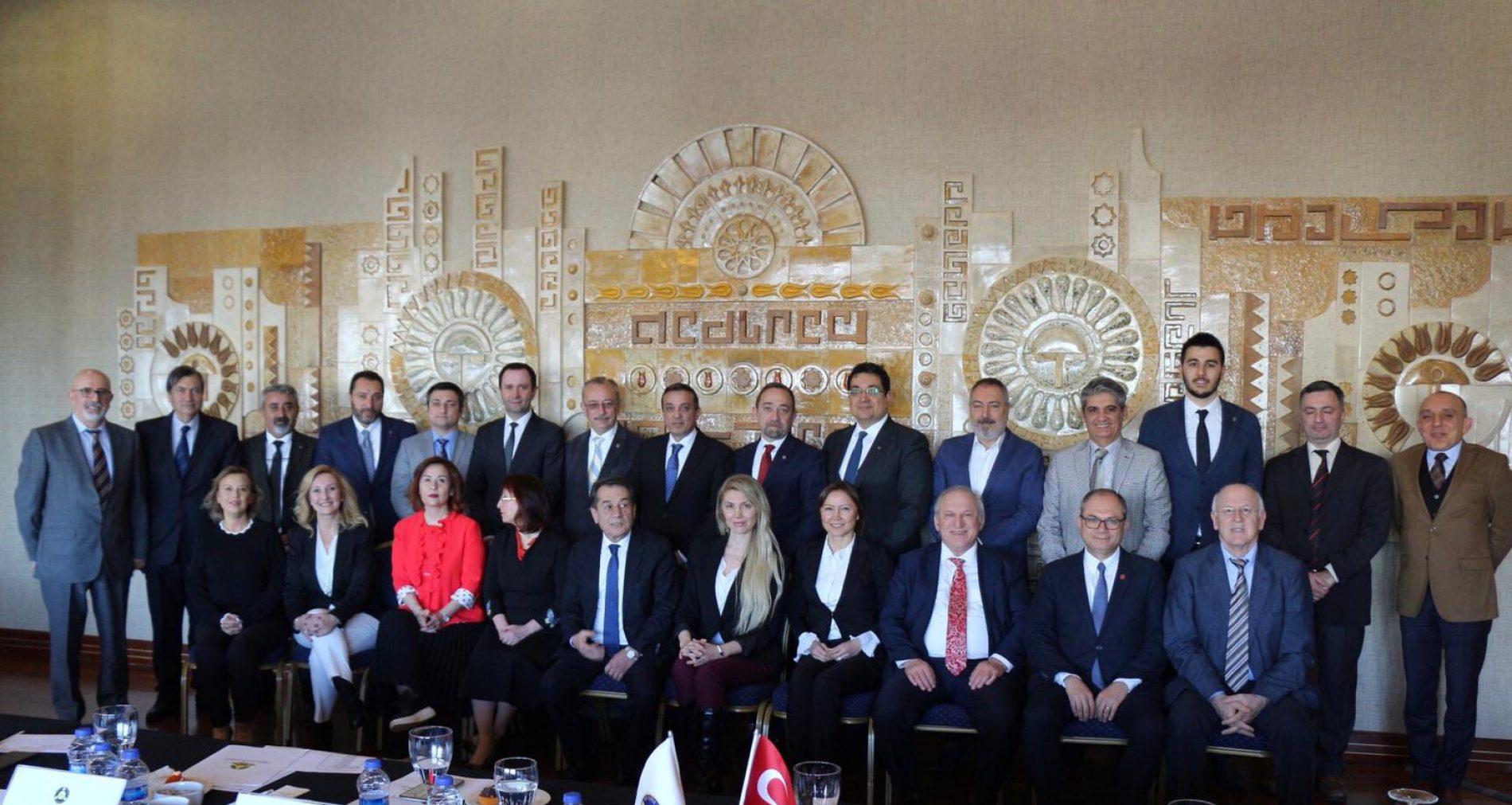 TBD 33. Dönem Genişletilmiş Yönetim Kurulu Toplantısı Yapıldı