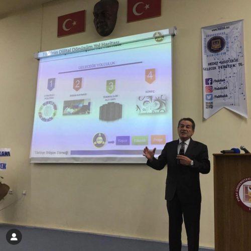 TBD Elazığ'da Dijital Dönüşüm Siber Güvenlik Konferansı Düzenledi 26.04.2019