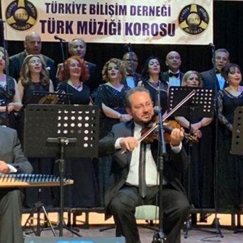 """Türkiye Bilişim Derneği Türk Müziği Korosu """"İlkbahar Konseri"""" Gerçekleştirildi"""