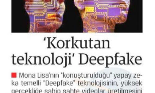 Korkutan Teknoloji Deepfake – DOĞRU HABER
