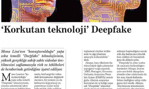Korkutan Teknoloji Deepfake – KIBRIS POSTASI