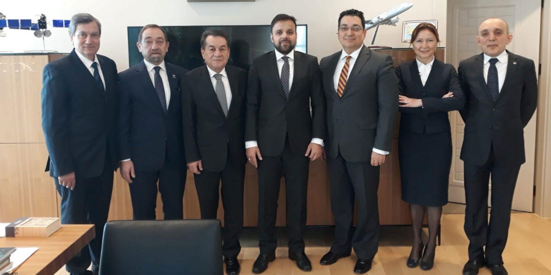 TBD Heyeti, T.C. Cumhurbaşkanlığı Dijital Dönüşüm Ofisi Başkanı Sayın Ali Taha KOÇ'u Makamında Ziyaret Etti
