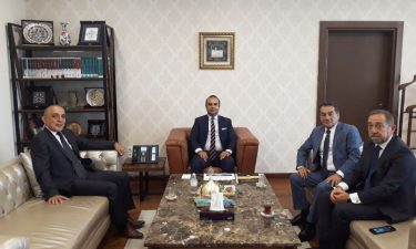 TBD Heyeti, T.C. Sanayi ve Teknoloji Bakanlığı Bakan Yardımcısı Sayın Mehmet Fatih KACIR'ı Makamında Ziyaret Etti