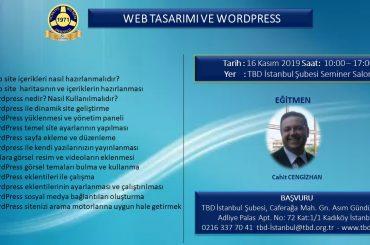 Web Tasarımı ve Wordpress Eğitimi