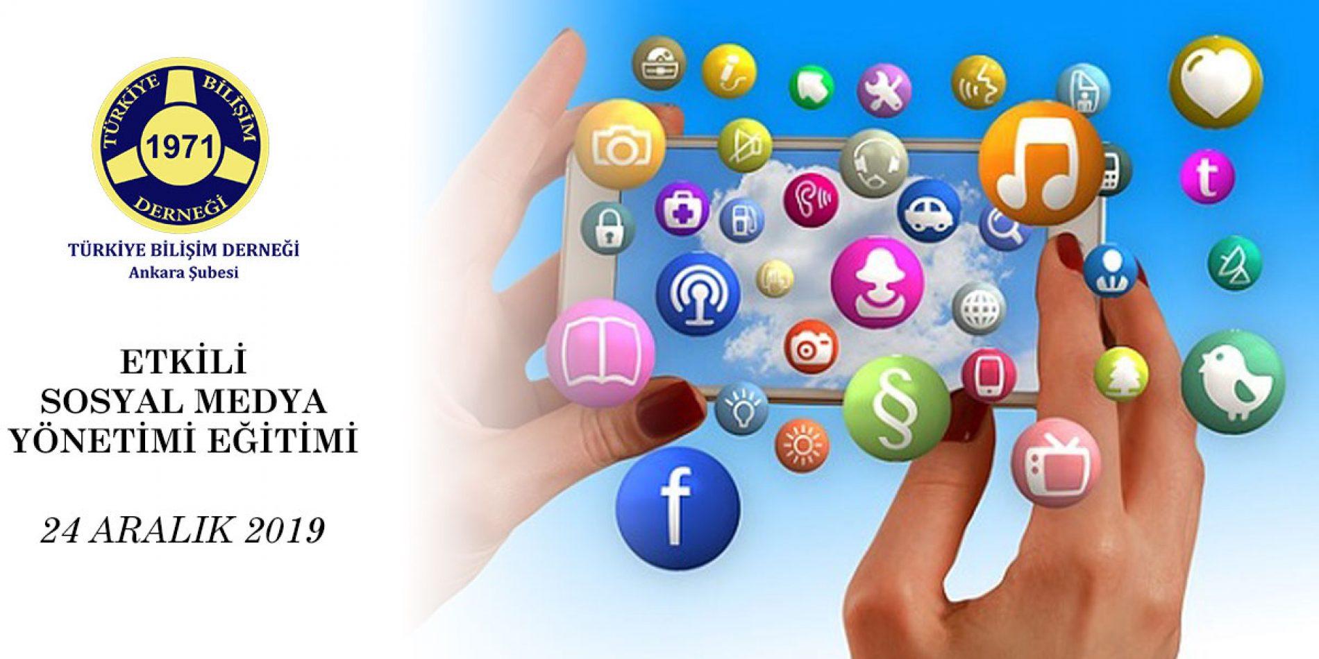 Etkili Sosyal Medya Yönetimi Eğitimi