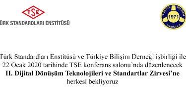 II. Dijital Dönüşüm Teknolojileri ve Standartları Zirvesi