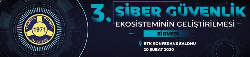 3. Siber Güvenlik Ekosisteminin Geliştirilmesi 2020