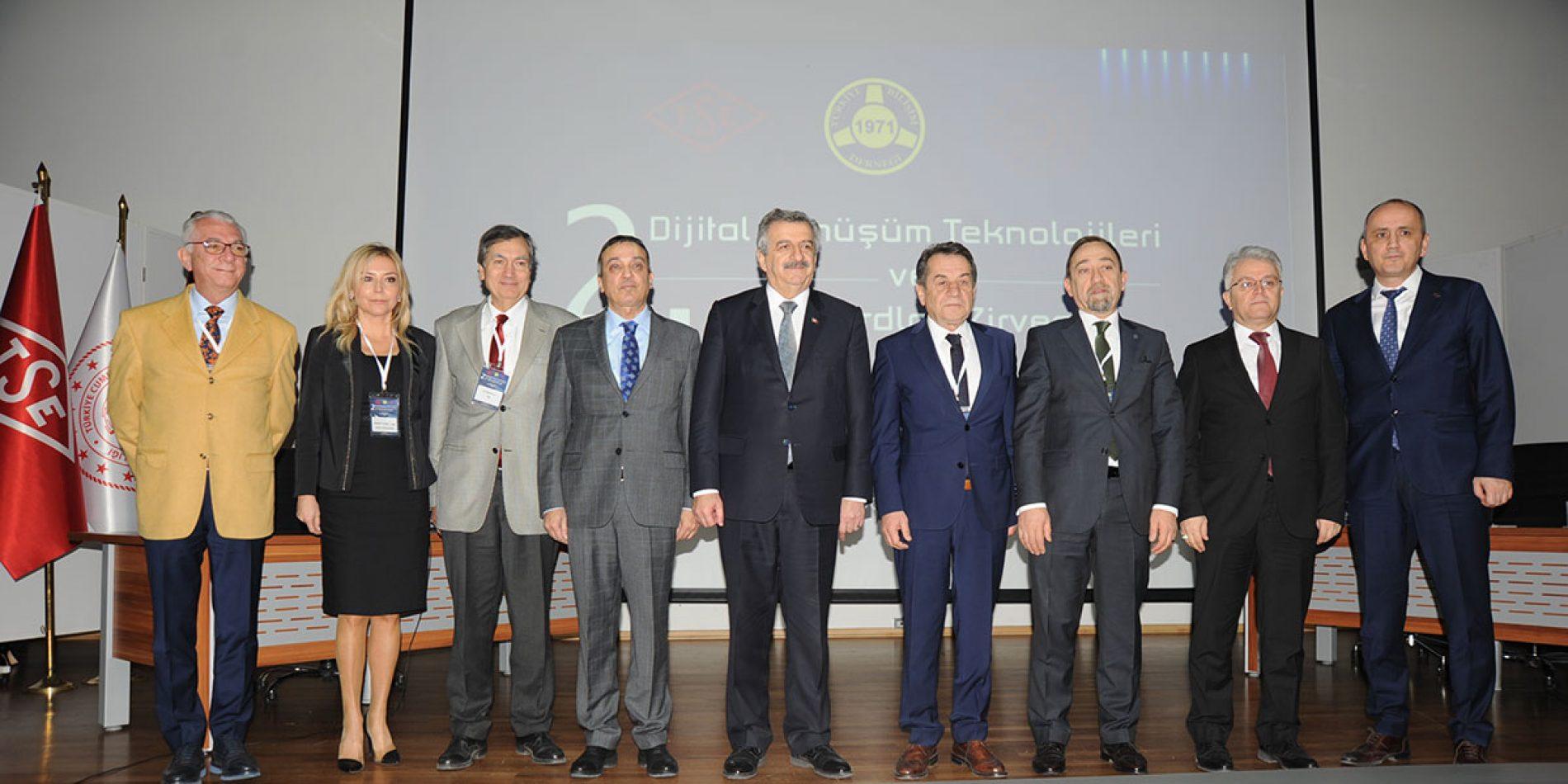 2. Ulusal Dijital Dönüşüm Teknolojileri ve Standartları Zirvesi, TSE Konferans Salonunda Gerçekleştirildi