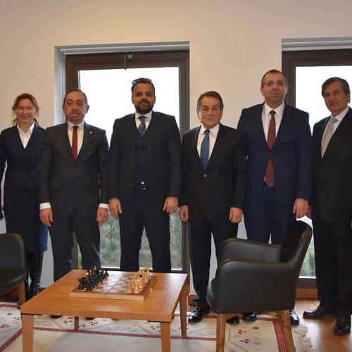 TBD Heyeti, T.C. Cumhurbaşkanlığı Dijital Dönüşüm Ofisi Başkanı Sn. Dr. Ali Taha KOÇ'u Makamında Ziyaret Etti