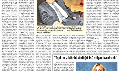 Türkiye, e-Dönüşüm Sıçramasını Tamamlamak Üzere – TİCARET GAZETESİ (İZMİR)