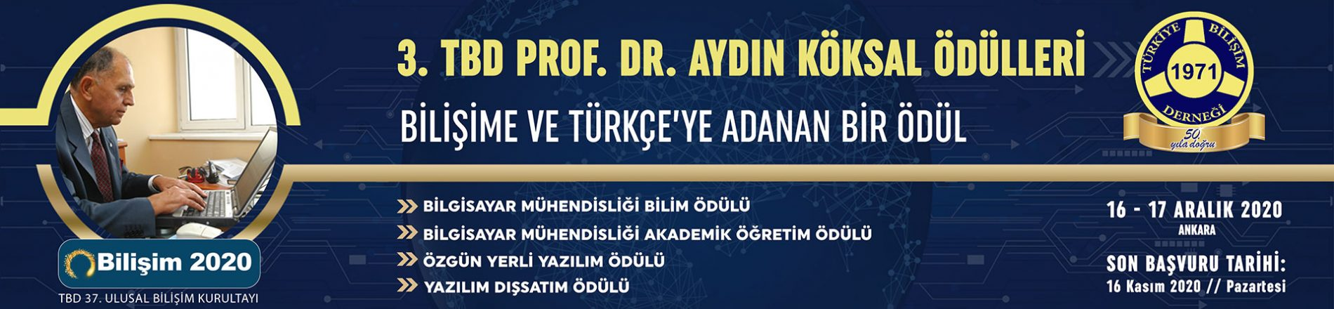 Prof.Dr. Aydın Köksal Ödülleri
