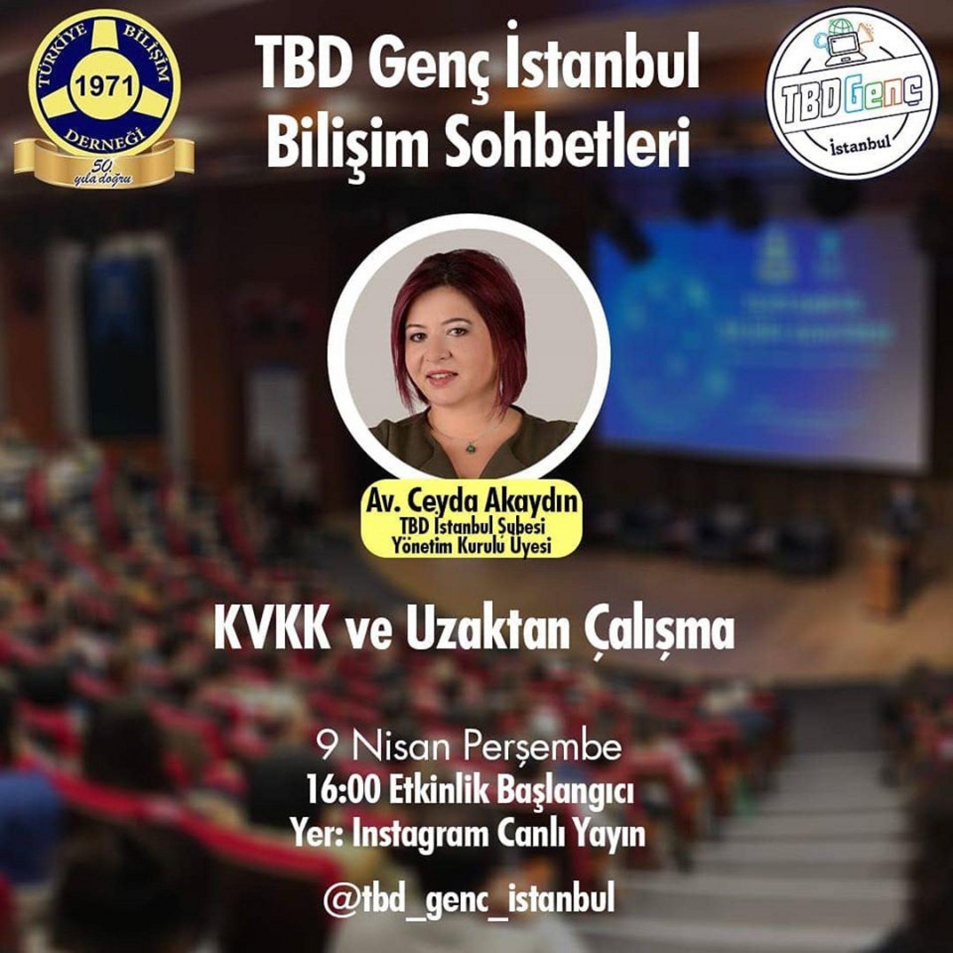 TBD Genç Bilişim Sohbetleri: KVKK ve Uzaktan Çalışma