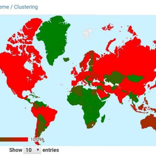 Dünyada Koronavirüs ve Kümeleme Analizi