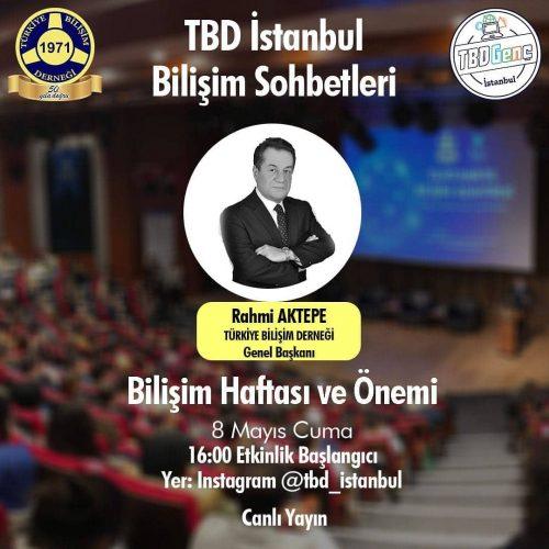 TBD İstanbul Bilişim Sohbetleri: Bilişim Haftası ve Önemi