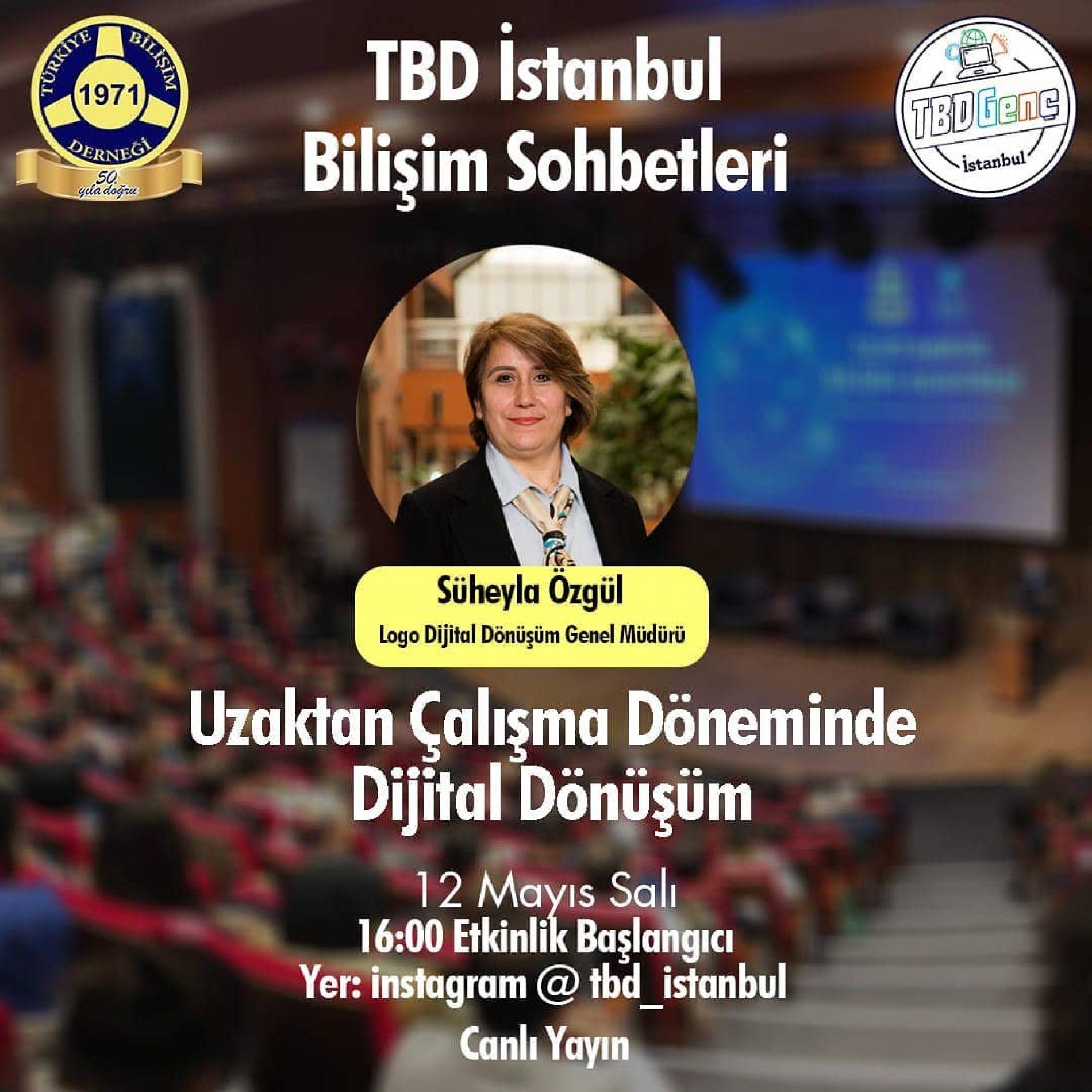 TBD Bilişim Sohbetleri: Uzaktan Çalışma Döneminde Dijital Dönüşüm