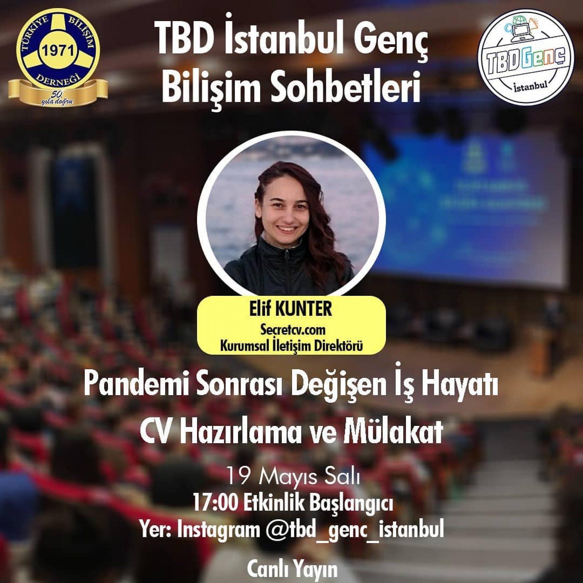 TBD Genç Bilişim Sohbetleri: Pandemi Sonrası Değişen İş Hayatı