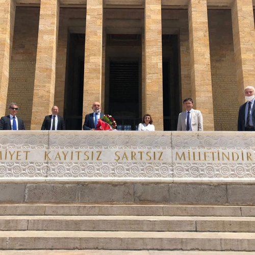 TBD Ankara Şubesi ANITKABİR Ziyareti