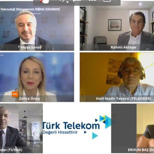 """TBD Genel Başkanı Rahmi AKTEPE Dijital Gündem """"Salgınla Mücadele ve Dijital Dönüşüm"""" Konulu Konferansa Katıldı"""
