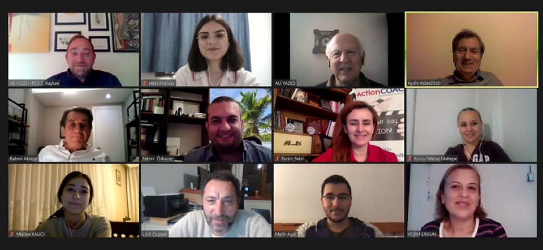 Türkiye Bilişim Derneği (TBD), Bilişim Teknolojileri Eğitimcileri Derneği (BTE) ve Bilgisayar Mühendisleri Dayanışma ve Yardımlaşma Derneği(BMDD-CENG) temsilcileri Proje Toplantıları için Bir Araya Geldiler