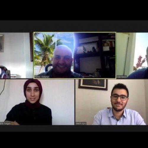 Türkiye Bilişim Derneği (TBD) ve Bilgisayar Mühendisleri Dayanışma ve Yardımlaşma Derneği(BMDD-CENG) temsilcileri yaptıkları işbirliği protokolleri kapsamında bilişim ve eğitim dünyasını ilgilendiren etkinlikler için online toplantıda bir araya gelerek üçüncü bir görüşme gerçekleştirdiler.