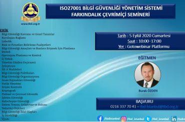 ISO27001 Eğitimi
