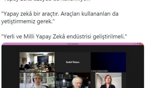 Türkiye'de Yapay Zekânın geleceği bugün TBD'de – KOBİ EFOR