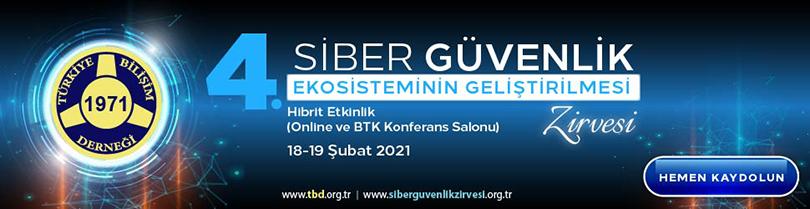 TBD 4. Siber Güvenlik Ekosisteminin Geliştirilmesi Zirvesi