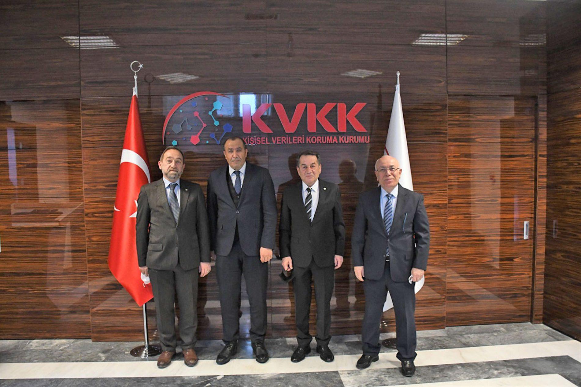 Türkiye Bilişim Derneği'nden Kişisel Verileri Koruma Kurumu'na Ziyaret