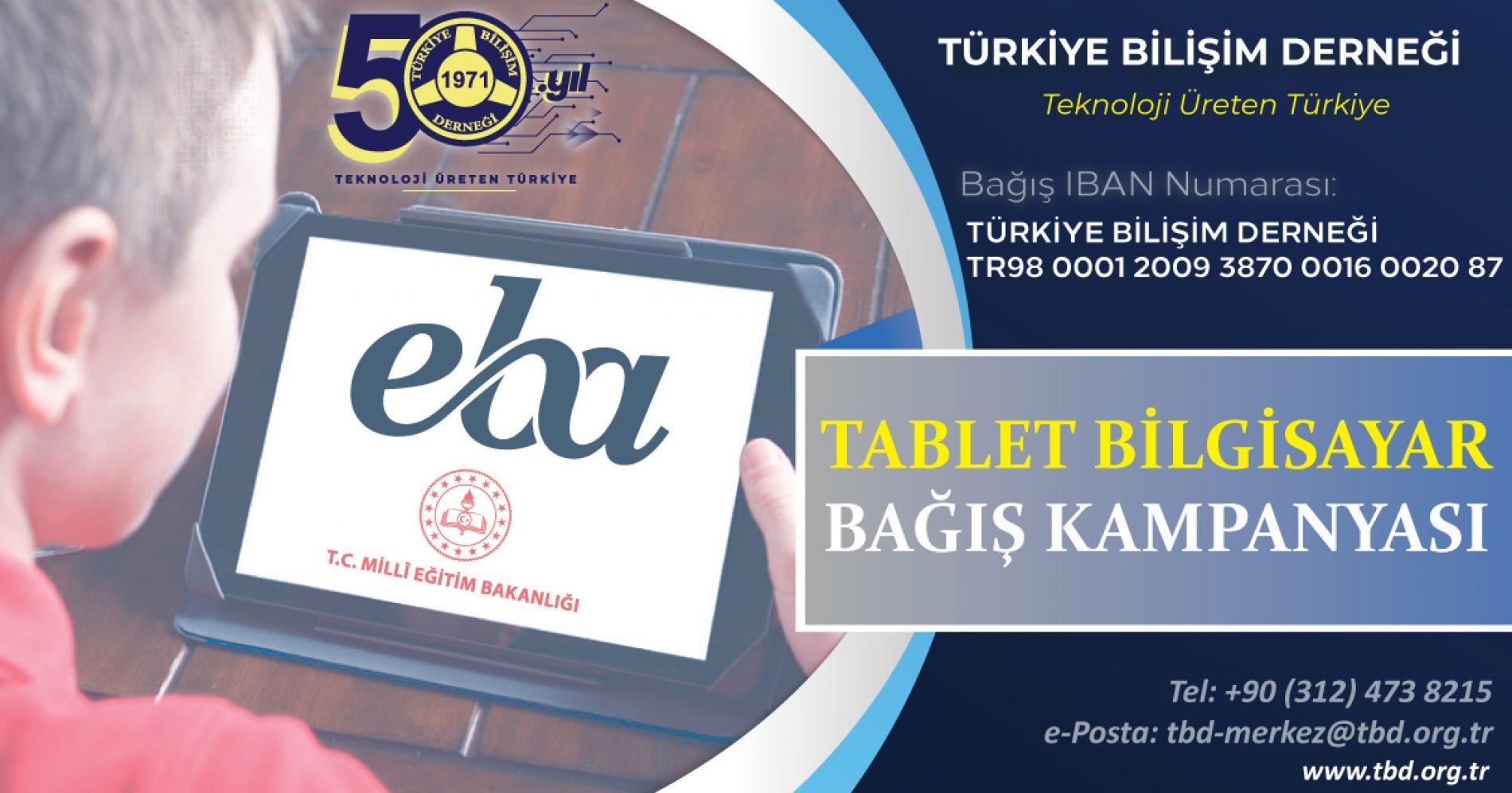 Tablet Bilgisayar Bağış Kampanyası