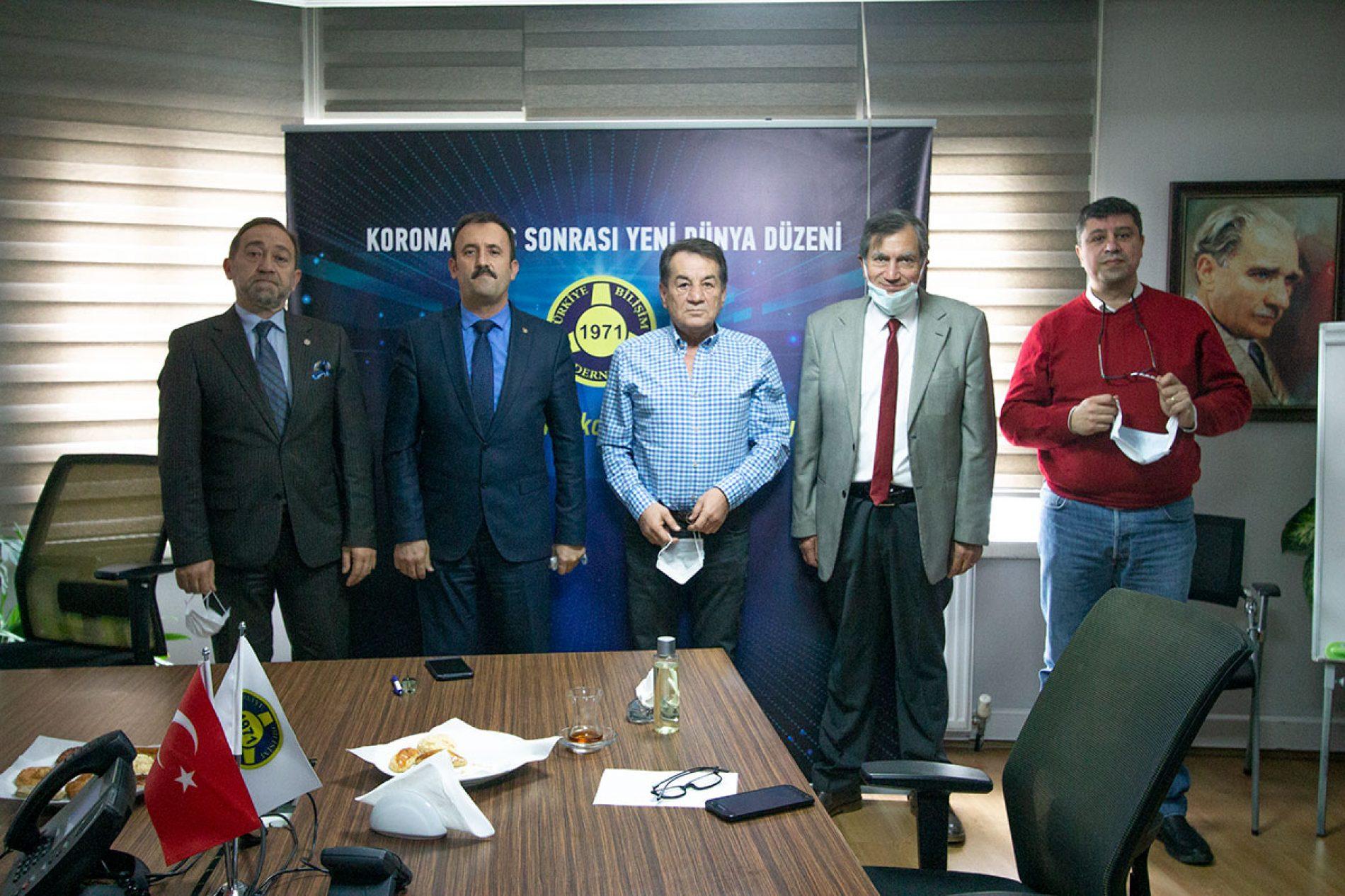 Türkiye Bilişim Derneği'nden Sivil Toplumla İlişkiler Genel Müdürlüğü İl Müdürlüğü'nü Ziyaret