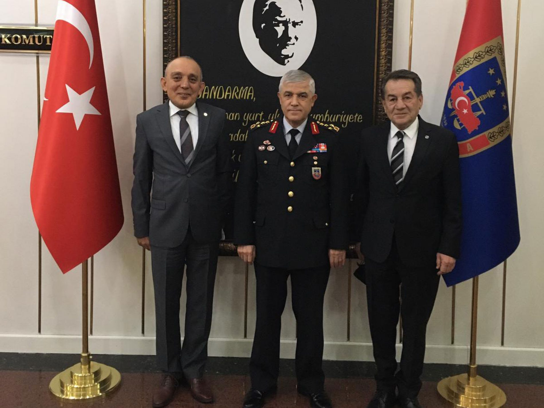 Türkiye Bilişim Derneği'nden, T.C. İçişleri Bakanlığı Jandarma Genel Komutanlığı'na Ziyaret