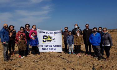 TBD İstanbul 50. Yıl Hatıra Ormanımıza Fidan Dikimi Gerçekleştirildi.