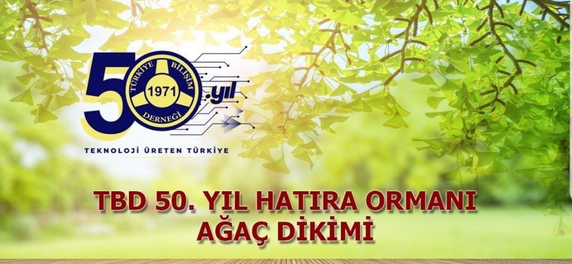 TBD İstanbul 50. Yıl Hatıra Ormanı Ağaç Dikimi Etkinliği