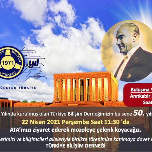 TBD 50. Yıl Anıtkabir Ziyareti
