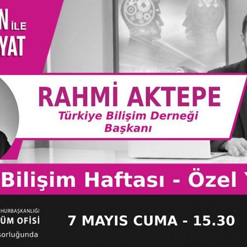 Bilişim Haftası TRT Radyo1larında Özel Yayın Programına Katıldık…