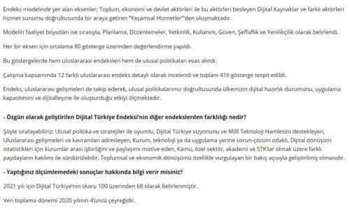 """""""Dijital Türkiye""""nin Göstergeleri – DÜNYA GAZETESİ"""