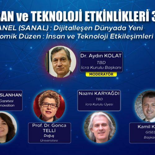 İnsan ve Teknoloji Etkinlikleri 3: Dijitalleşen Dünyada Yeni Ekonomik Düzen : İnsan ve Teknoloji Etkileşimleri
