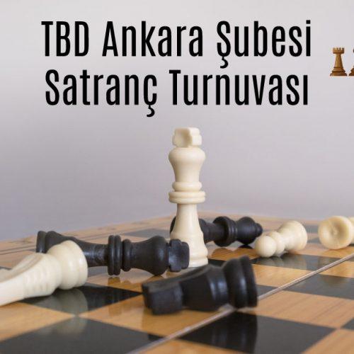 TBD Ankara Şubesi Satranç Turnuvası