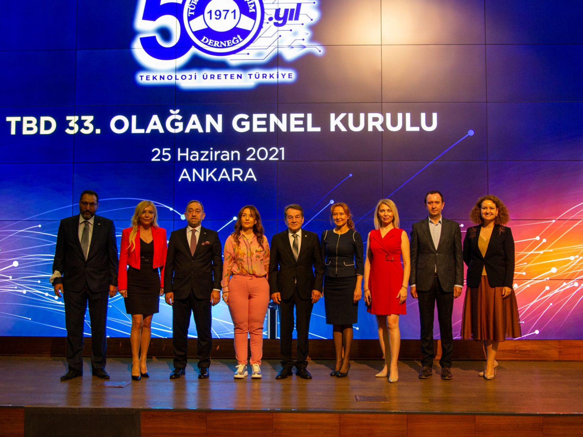 TBD, 33. Olağan Genel Kurulunda Rahmi AKTEPE Yeniden Türkiye Bilişim Derneği Başkanı Seçildi