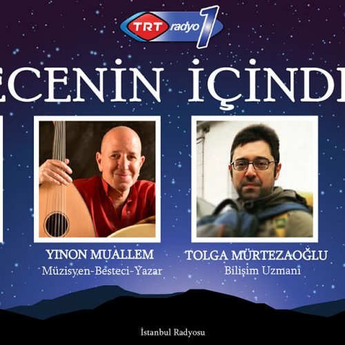 """TRT Radyo1'de Yayınlanan """"Gecenin İçinden"""" Programına Katıldık…"""